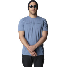 Houdini Big Up Message Tee Men skyhigh blue